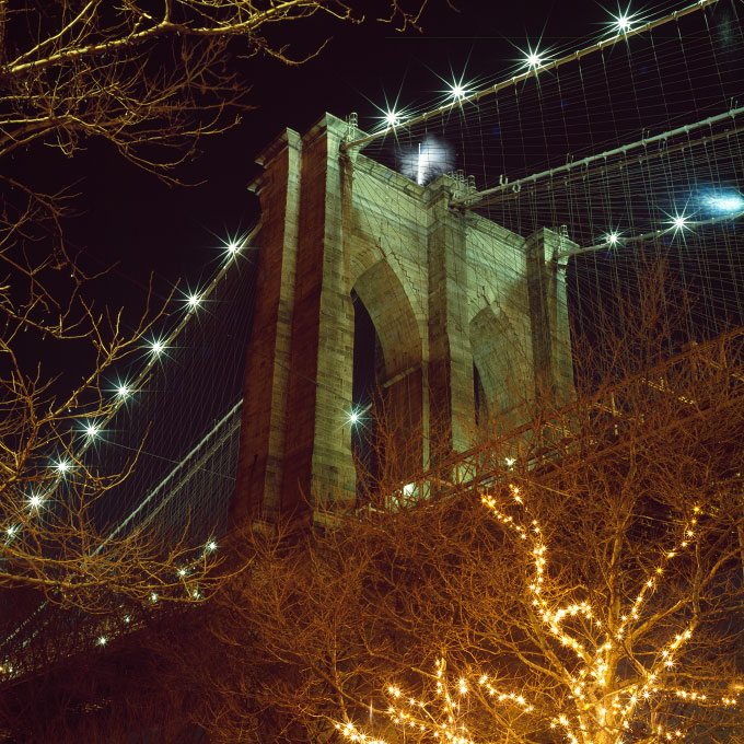 <i>Brooklyn Bridge Tower</i>Dumbo, Brooklyn, NY 2007