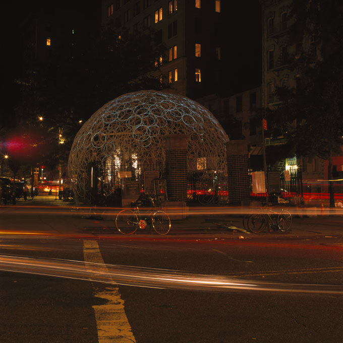 Latice Dome, Petrosine Square-3Soho, New York, NY 2007