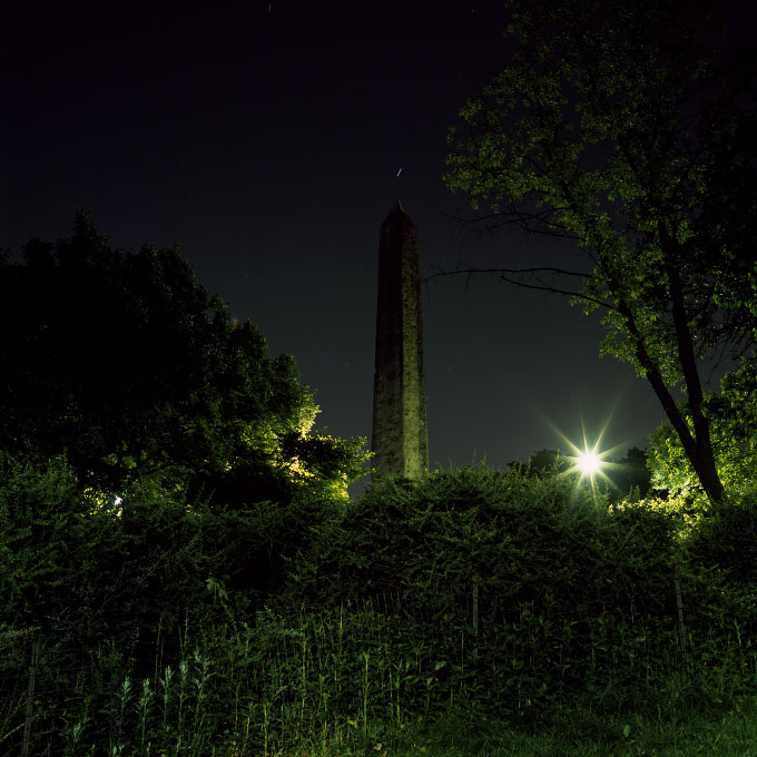 Cleopatra's Needle Pointing to JupiterCentral Park, New York 2008