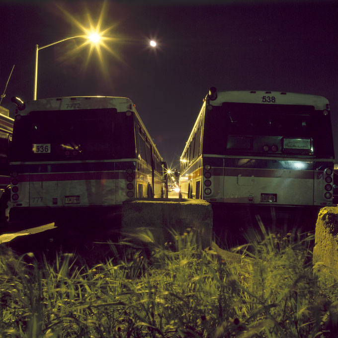 Bus Alley, Second AvenueGowanus, Brooklyn, NY, 2011
