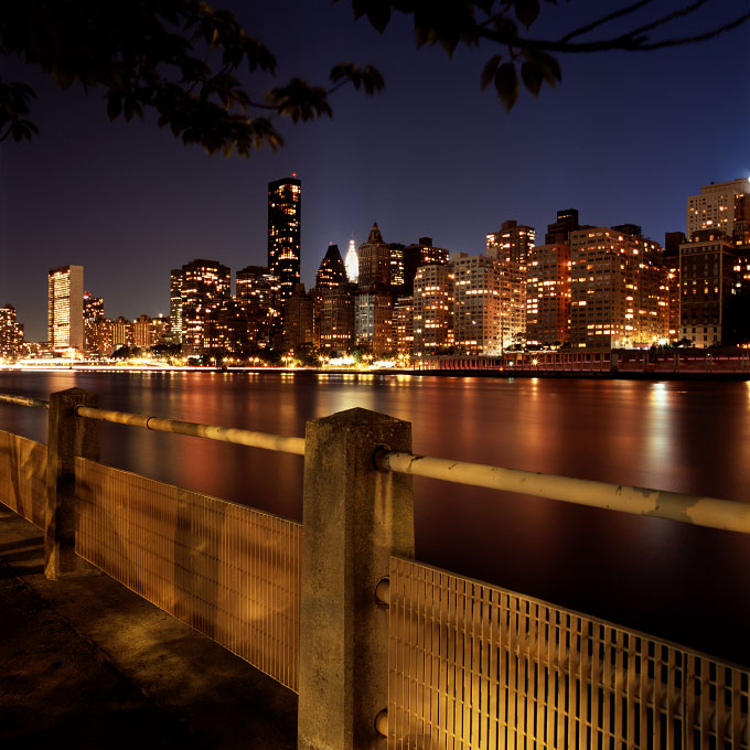 Manhattan Skyline View-1Roosevelt Island, New York 2011