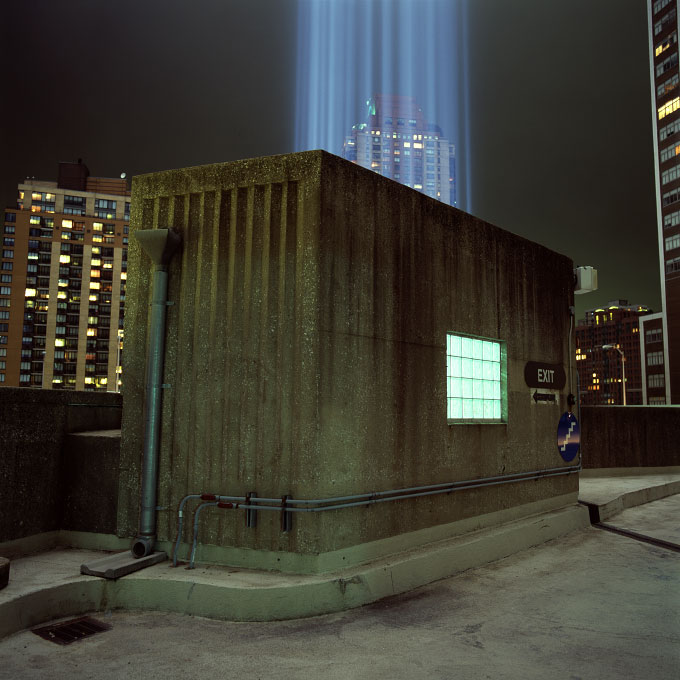 Tribute Light, Battery Park Garage-2September 11, 2011, New York, NY 2011