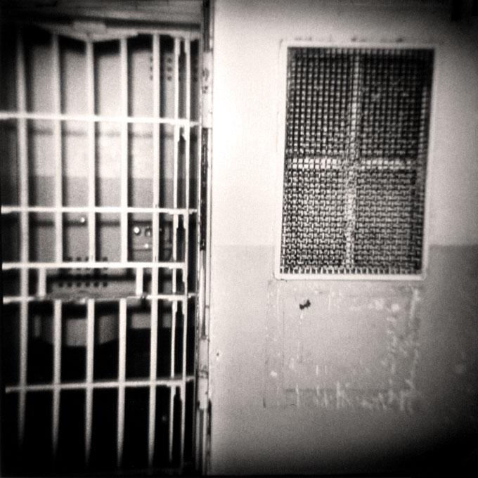 Solitary DoorAlcatraz, San Francisco, California 1997