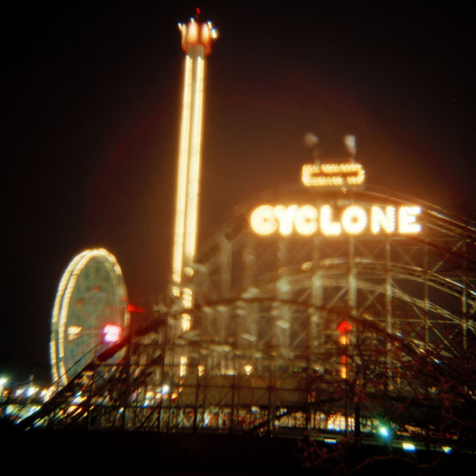 Cyclone By Night-1Coney Island, Brooklyn, NY 2007