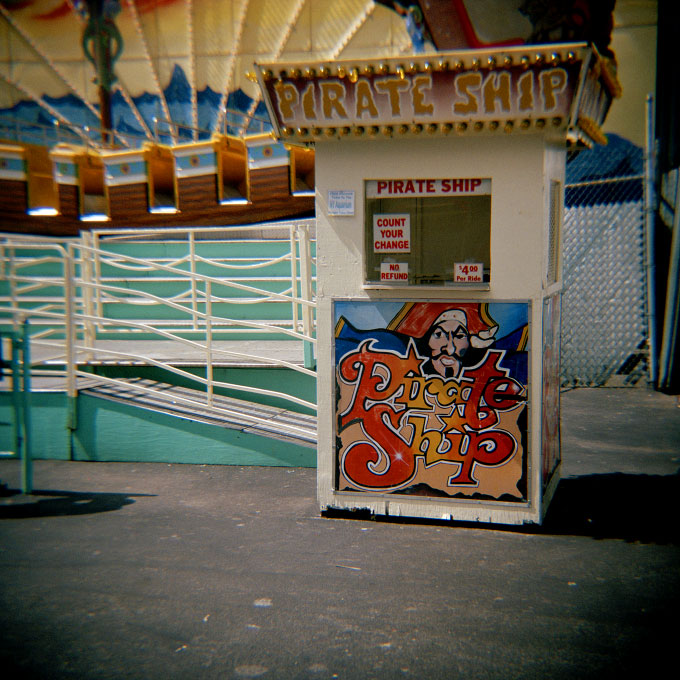 Pirate Ship TicketsConey Island, Brooklyn, NY 2007