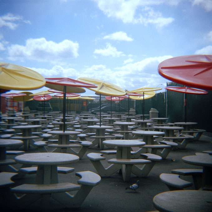 Disc UmbrellasConey Island, Brooklyn, NY 2007