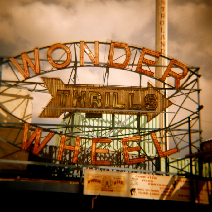 Wonder Wheel Thrills-1Coney Island, Brooklyn, NY 2007