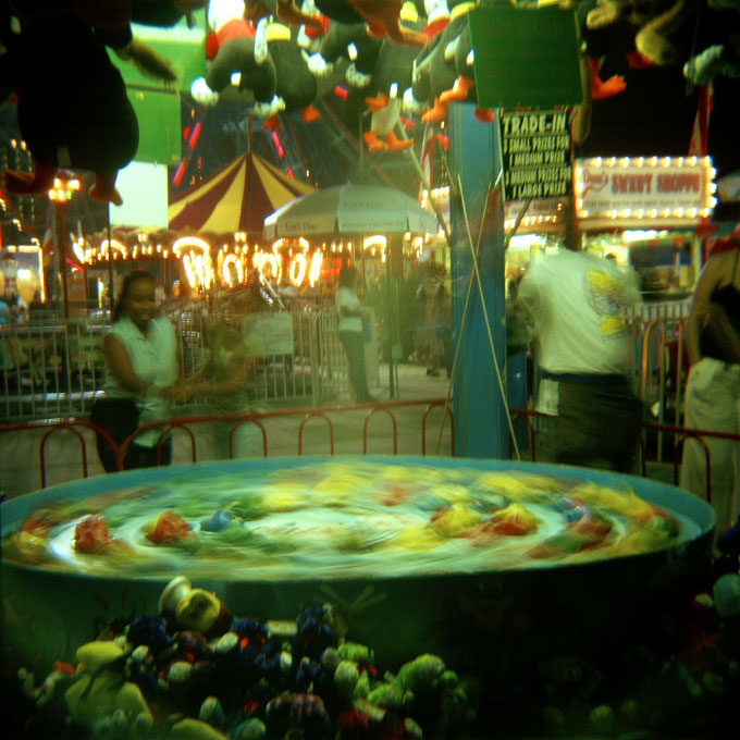 Headless Game VendorConey Island, Brooklyn, NY 2007