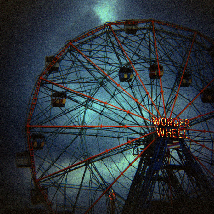 <i>Wonder Wheel-4</i>Coney Island, Brooklyn, NY 2007