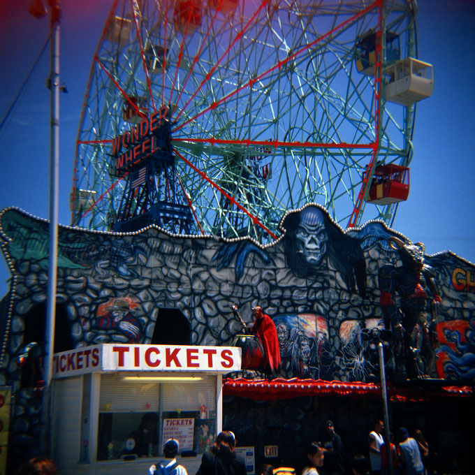 Ghosthouse TicketsConey Island, Brooklyn, NY 2007