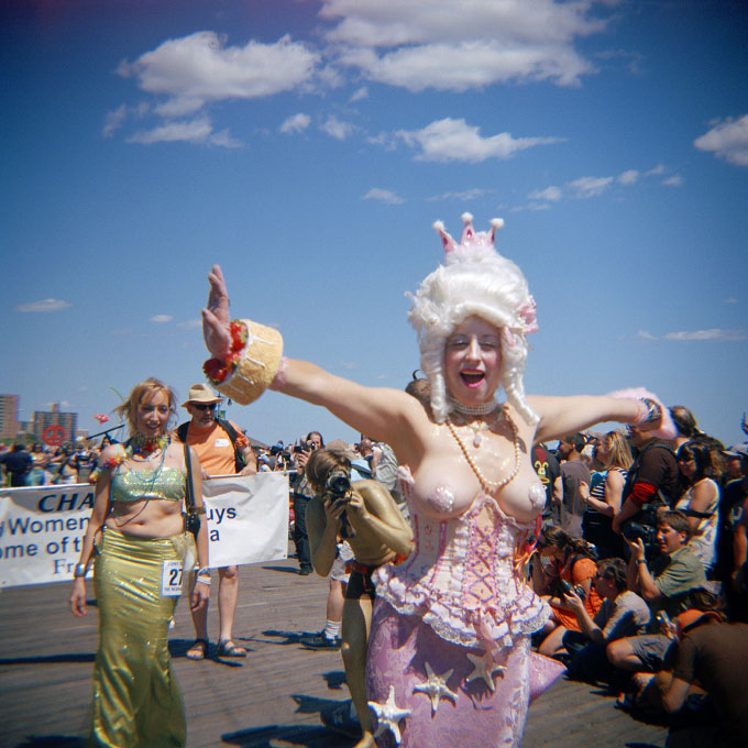 Queen of the Parade-1Coney Island, Brooklyn, NY 2007