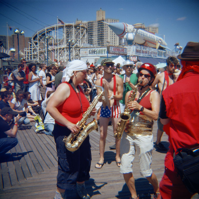 Sax AppealConey Island, Brooklyn, NY 2007