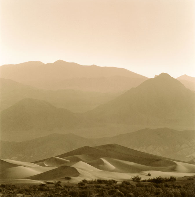 Sunrise.4, Stovepipe Wells Sand DunesDeath Valley National Park, California 2003