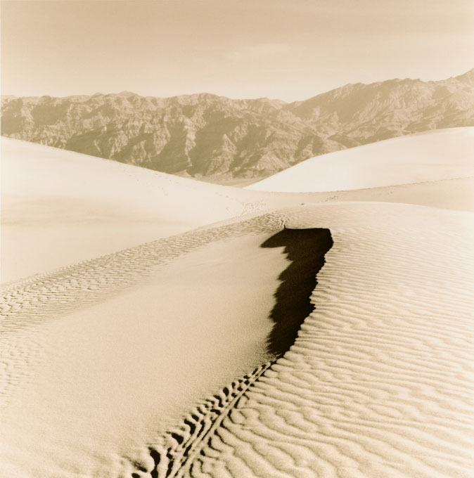 Mid Morning Light.1, Stovepipe Wells Sand DunesDeath Valley National Park, California 2003