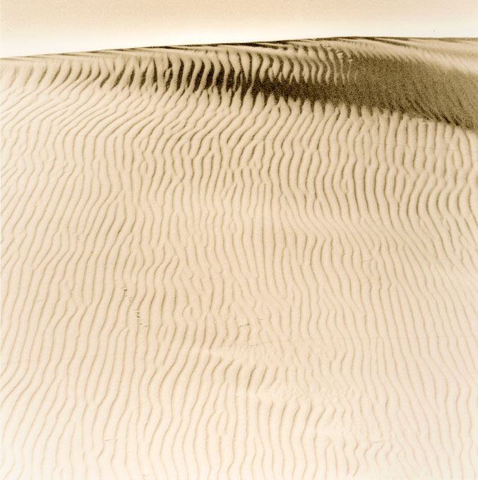 Mid Morning Light.2, Stovepipe Wells Sand DunesDeath Valley National Park, California 2003