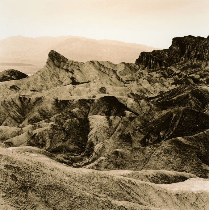 Zabriskie Point View.5, Furnace Creek FormationDeath Valley National Park, California 2003