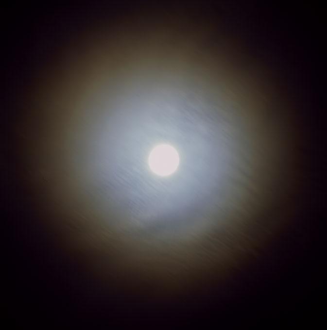 Hazy Night, Full Moon-1New York, NY 2006