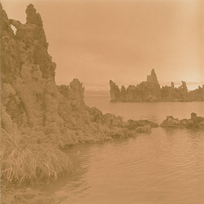 South Tufa Study.2Mono Lake, Lee Vining, California 2003