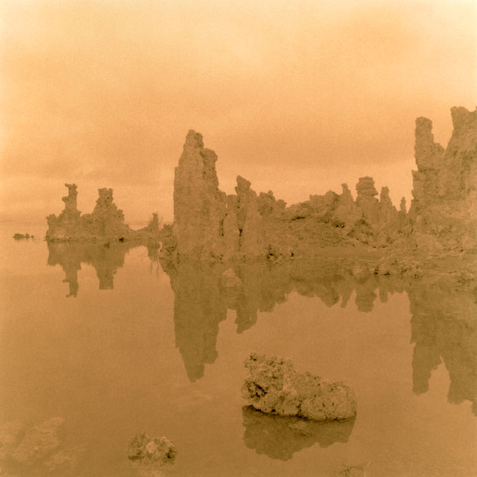 South Tufa Study.20Mono Lake, Lee Vining, California 2003