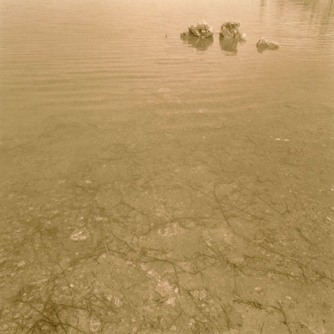 Lake Bed.2Mono Lake, Lee Vining, California 2003