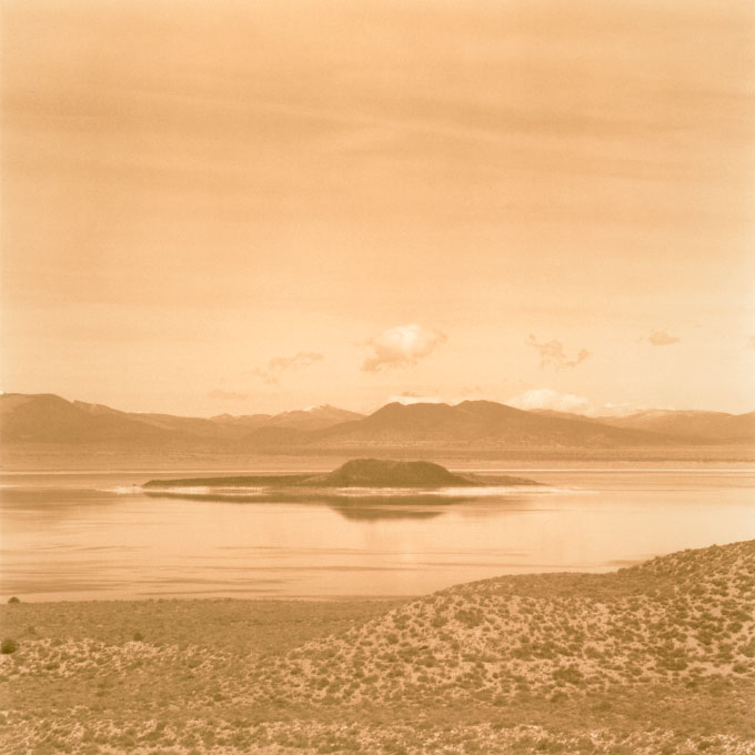 Negit Island.1Mono Lake, Lee Vining, California 2003
