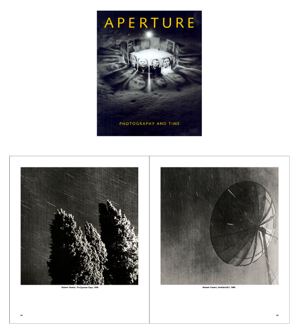 AperturePhotography and TimeIssue 158, Winter 2000