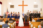 A Charlottesville wedding at The Woolen Mills Chapel