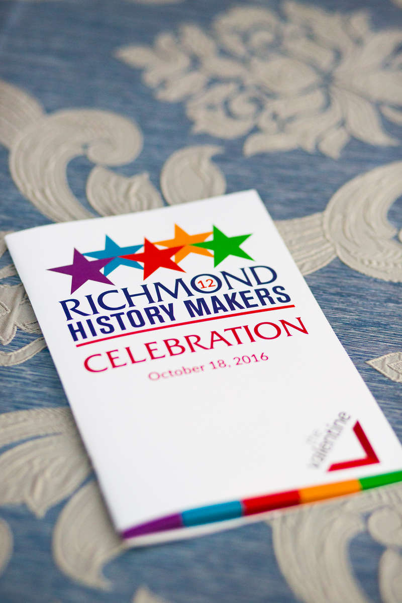 Richmond History Makers awards at The Valentine Museum.