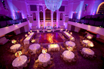 A wedding reception set up at 583 Park Ave.