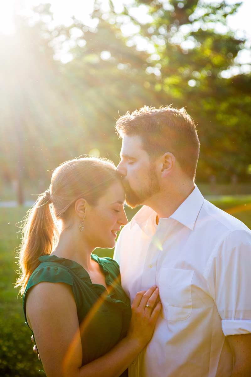 Engagement portraits before a wedding in Richmond, VA