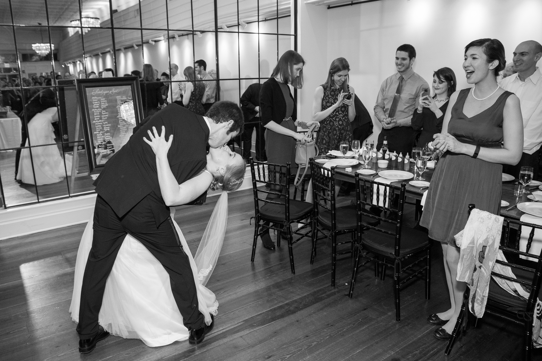 Charlottesville based Old Metropolitan Hall Wedding photos by photographer Michael Simon