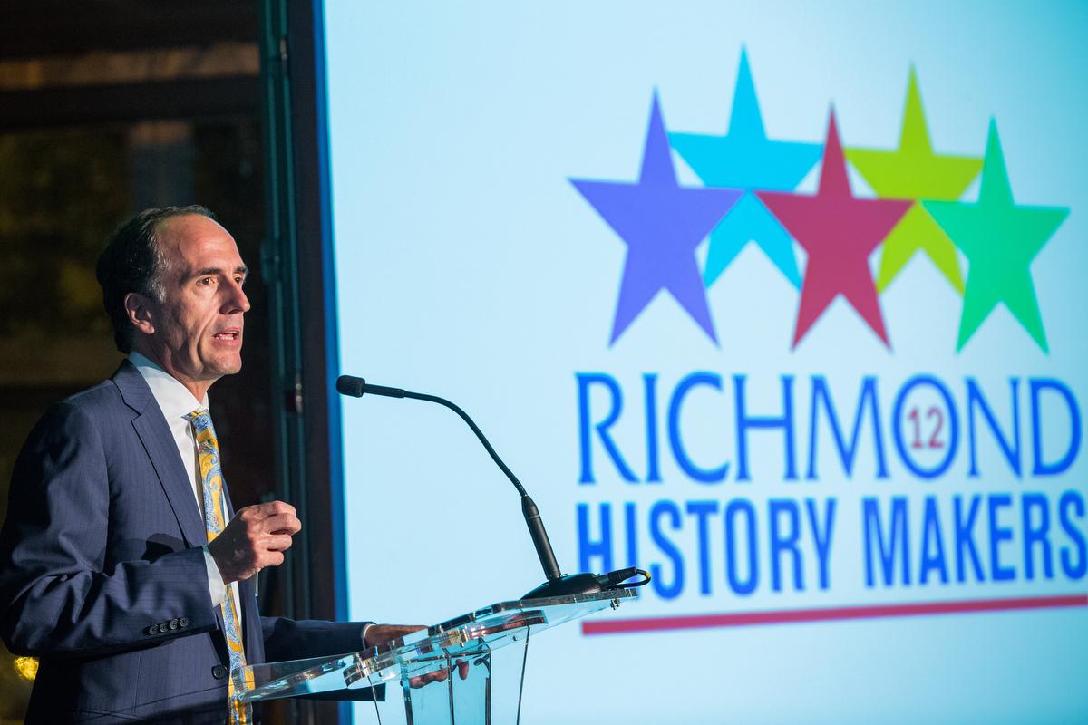 Richmond History Makers Celebration 2016.Honoring:Patty ParksEdward H. Peeples JR. PHD.Joann HenryChris & Rebecca DoviJack Berry