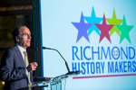 Richmond History Makers Celebration 2016.Honoring:Patty ParksEdward H. Peeples JR. PHD.Joann HenryChris & Rebecca DoviJack Berry