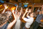 Guests dance at a wedding hosted at The Local in Charlottesville