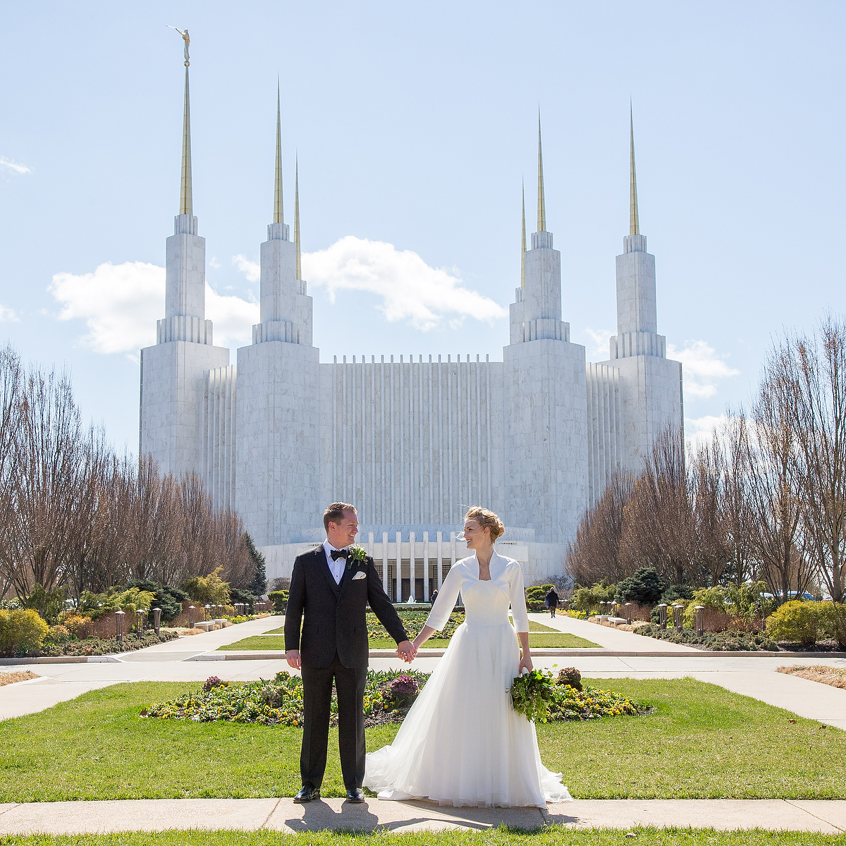 LDS Wedding in Washington DC