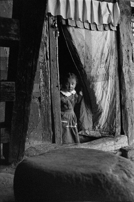 Tibetan girl, Potala Palace gift shop.