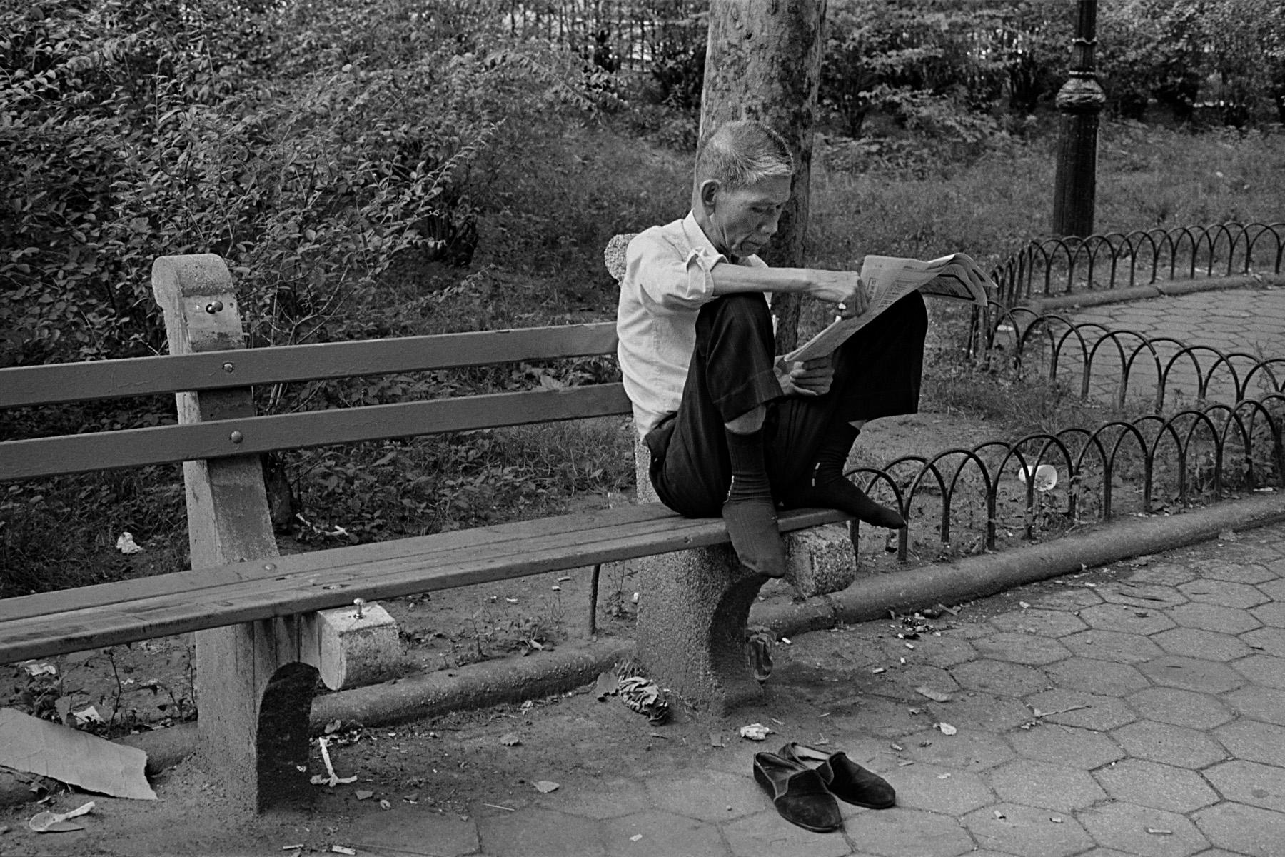 Columbus Park, New York Chinatown, 1982