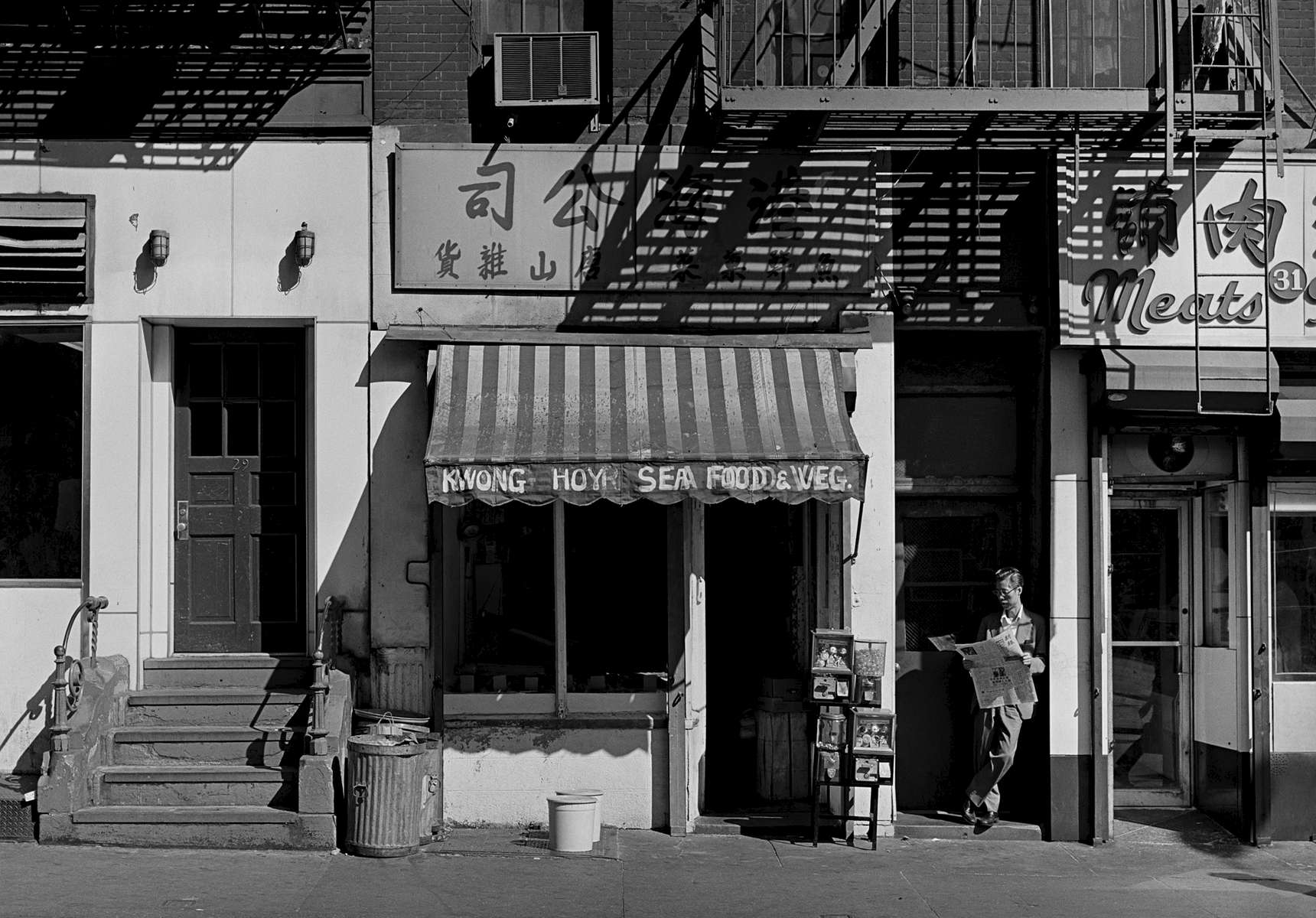 Catherine St., New York Chinatown, 1981