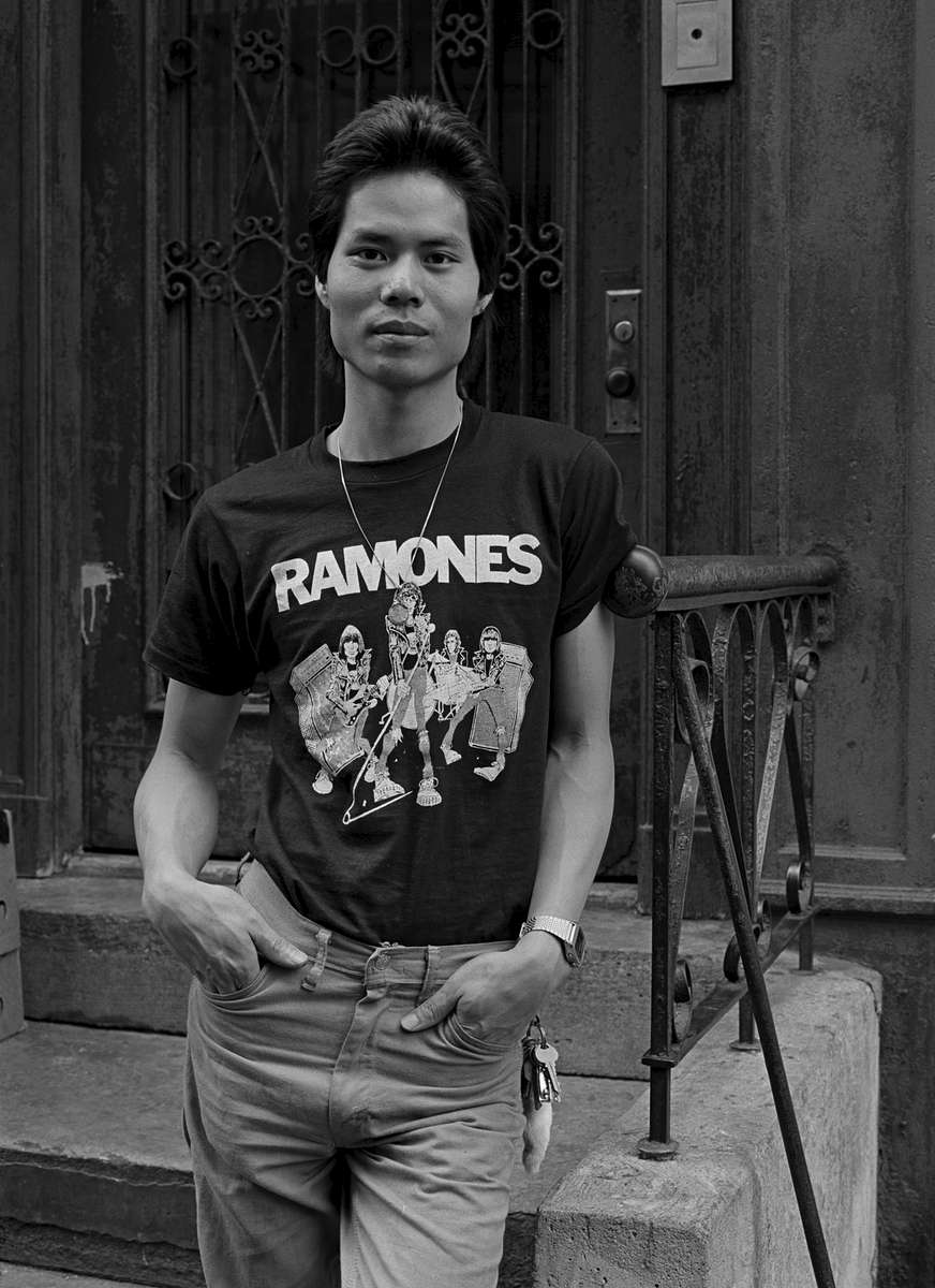 Tony, Catherine St., New York Chinatown, 1981