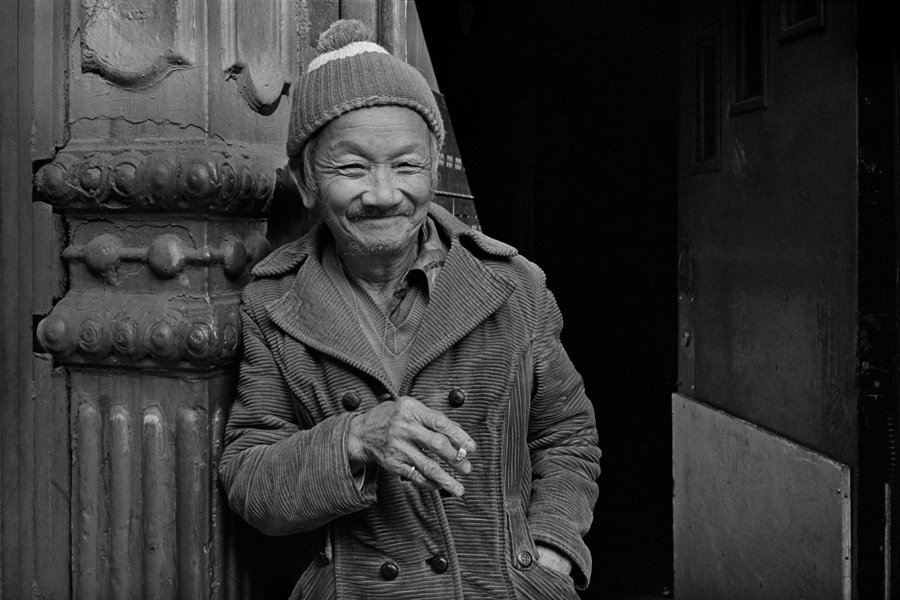 Mr. Soo, East Broadway, New York Chinatown,1982.