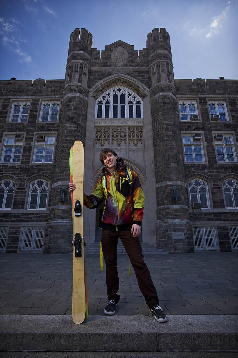 Fordham University-Student/ski designer