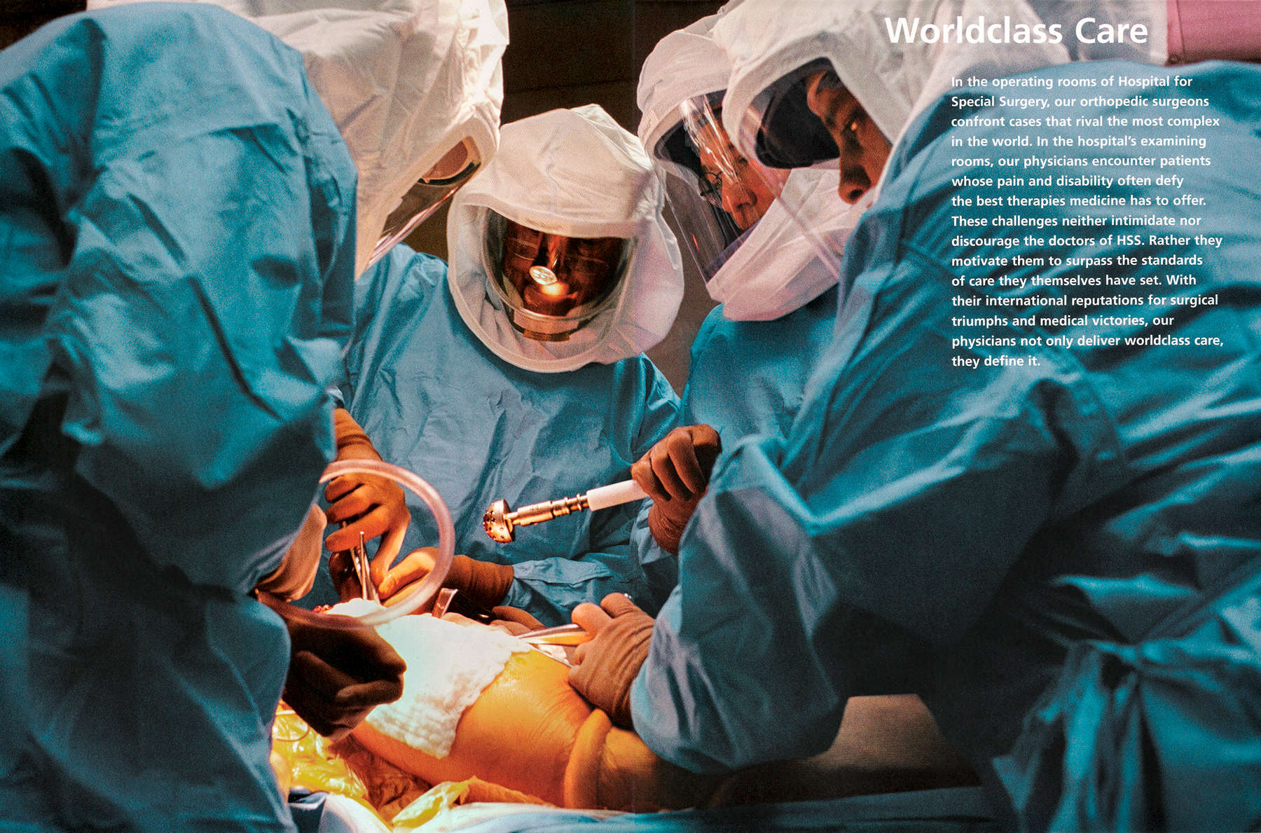 Hospital for Special Surgery Annual Report