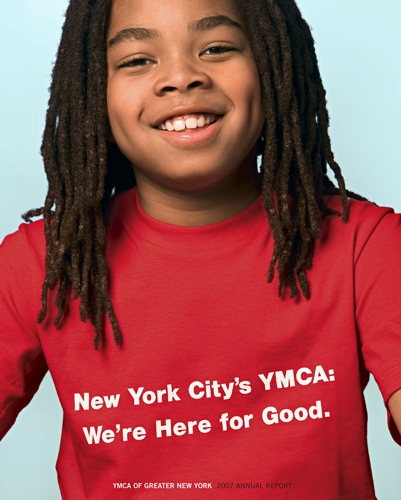 YMCA of Greater New York 2007 Annual Report Cover