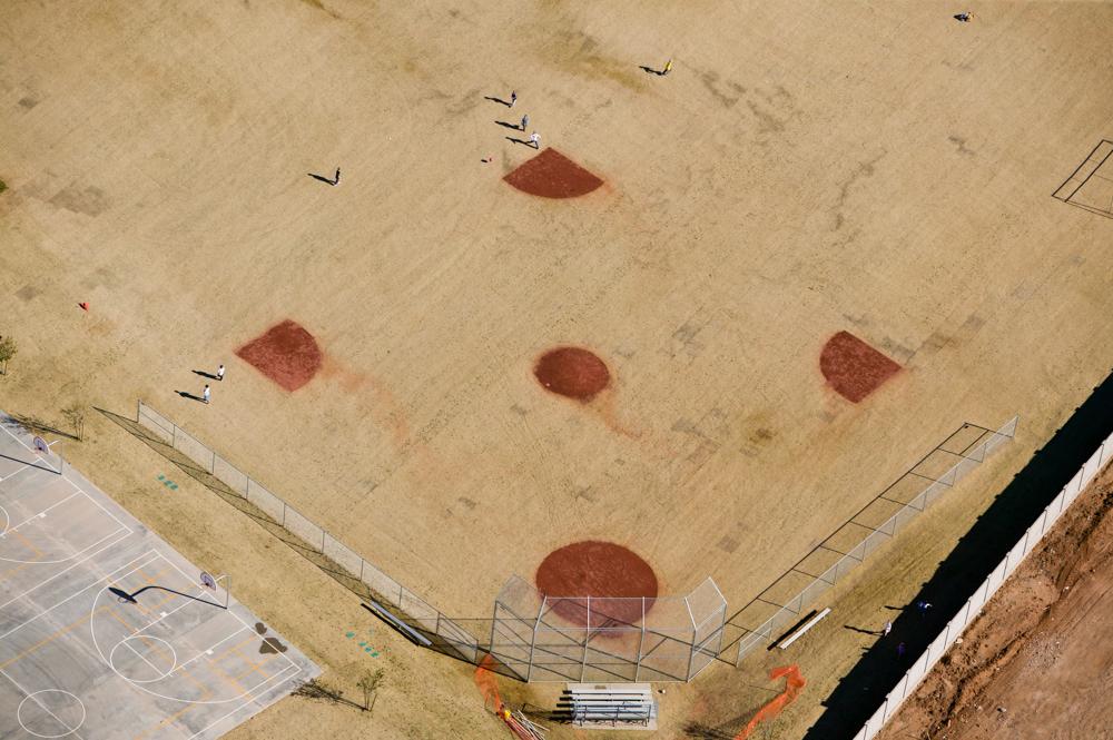 Schoolyard Baseball DiamondAnthem, AZ 2004Digital Capture, Ref #: 041215-0095