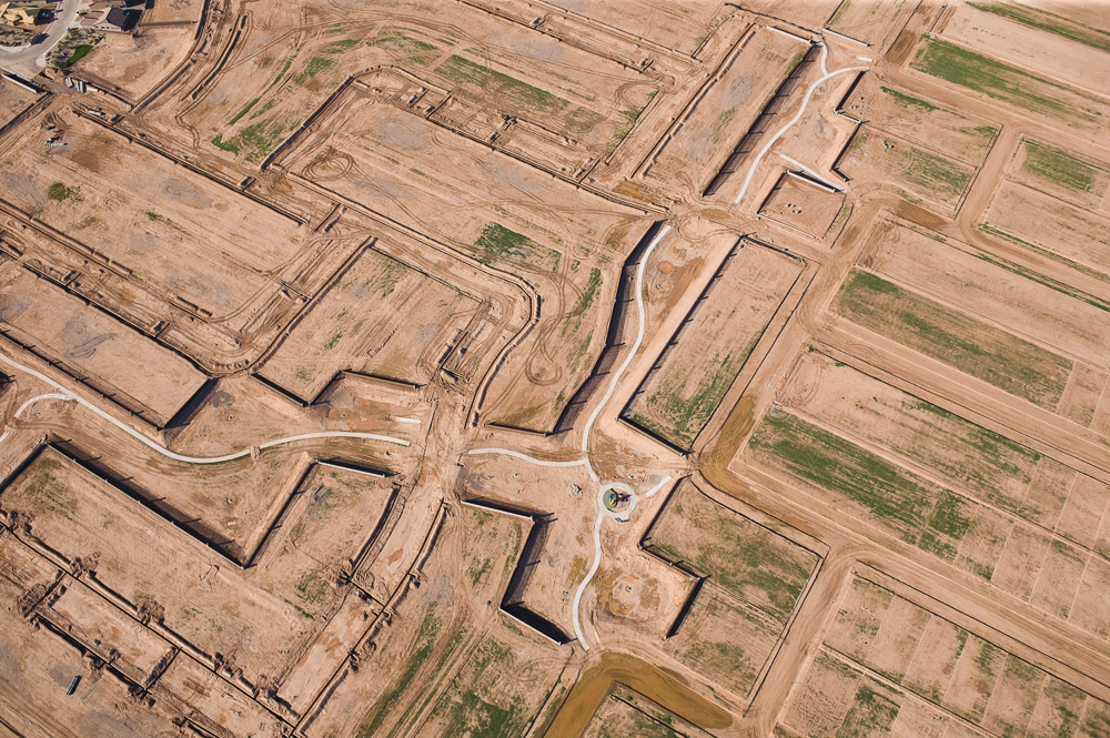 Subdivision Infrastructure, Goodyear, Arizona 2004 (041215-0268)