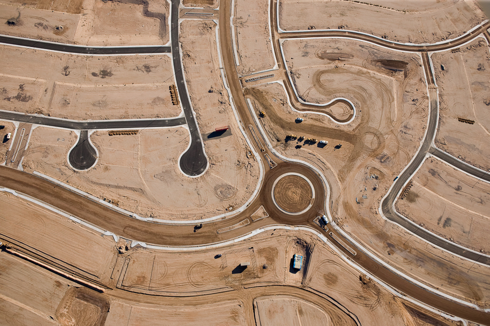 Heirarchy of Roads, Goodyear, Arizona 2004 (041215-0305)