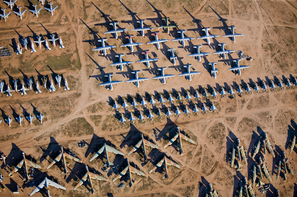 Boneyard Revisited III, Tucson, Arizona 2004 (041216-0277)