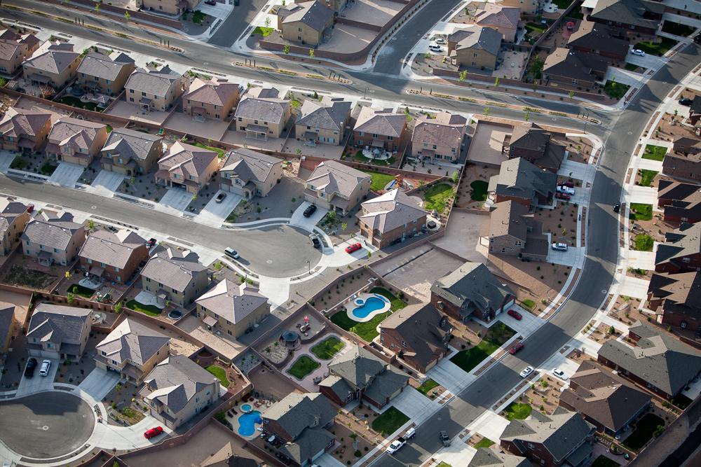 Adobe Housing Development, Rio Rancho, New Mexico 2008 (080616-0054)