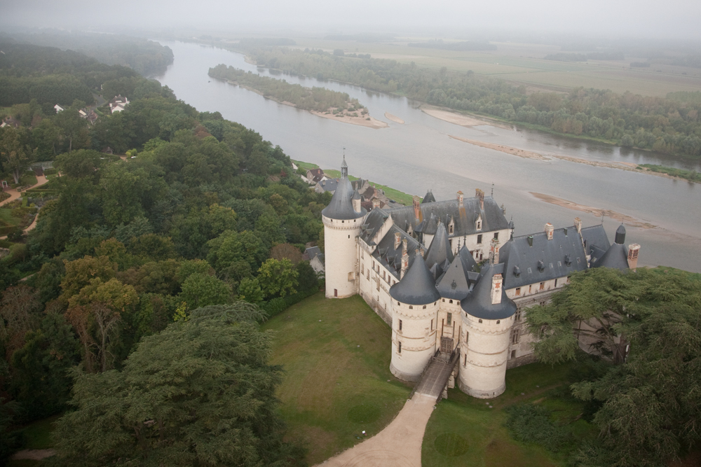 Aerial ViewThe Domaine de Chaumont-sur-Loire