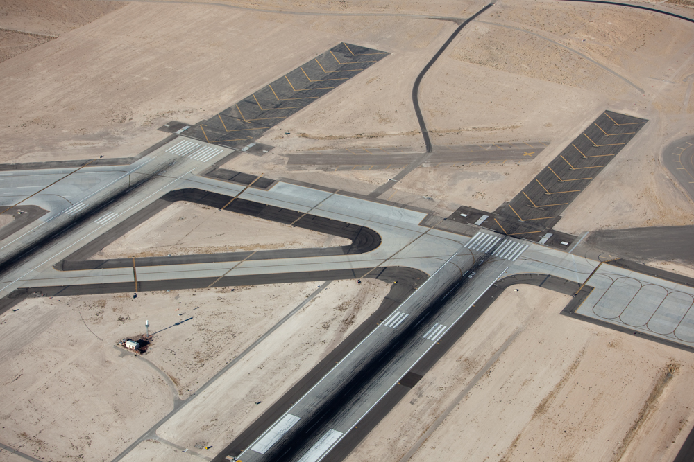 Airport Runways, Las Vegas, NV 2009 (091025-0211)